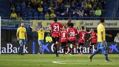 LaLiga 123 (J30): Resumen y goles del Las Palmas 1-2 Mallorca