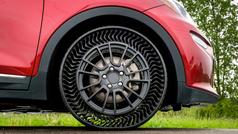 Michelin UPTIS, llega el neumático sin aire que no se pincha