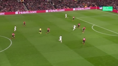 Gol de Mbappé  (0-2) en el Manchester United 0-2 PSG