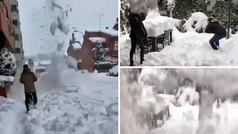 Y después de la nieve, cuidado con los aludes por deshielo: ¡alejaos de las cornisas!