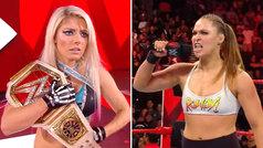 Ronda Rousey gana su primera pelea en WWE... ¡y revienta un micro amenazando a su próxima rival!