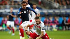 Francia y Turquía empatan en París (1-1) y se quedan a un paso de la Euro 2020