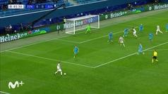 Gol de Kulusevski (0-1) en el Zenit 0-1 Juventus