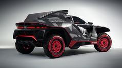 Carlos Sainz tiene nuevo coche: el Audi RS Q e-tron