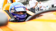 Alonso, a luchar hoy por la clasificación