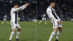 La UEFA expedienta a Cristiano por su polémico gesto al celebrar el pase en Champions