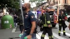Así se llevó a cabo la desactivación de la bomba antes del partido de Italia