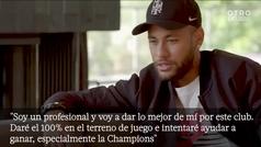 """Neymar, convencido de volver a enamorar a la afición del PSG: """"El amor volverá"""""""