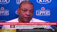 Las desgarradoras lágrimas de Doc Rivers tras la muerte de Kobe Bryant