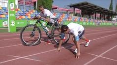 Carlos Coloma se impone a Ángel David Rodríguez en los 100 metros