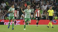 LaLiga (J5): Resumen y goles del Betis 2-2 Athletic