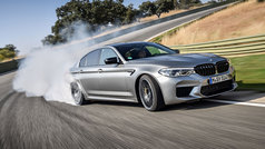 El BMW M5 Competition, en acción