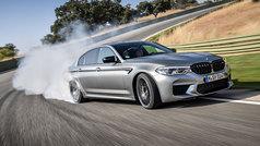 El BMW M5 Competition, en acción