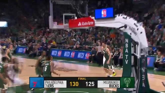 52 puntos de Antetokounmpo no le bastan a los Bucks para ganar