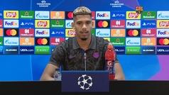 """Araujo: """"Somos el Barça y tenemos que aspirar a ganarlo todo"""""""