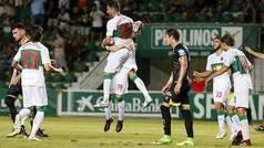 Copa del Rey (segunda ronda): Resumen y goles del Elche 2 - 1 Granada