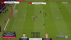 El zapatazo a la escuadra de Januzaj en el Real Sociedad-Atlético