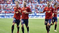 LaLiga 123 (J6): Resumen y gol del Osasuna 1-0 Sporting