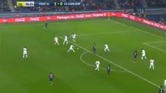 El hat-trick de Mbappé ante el Guingamp