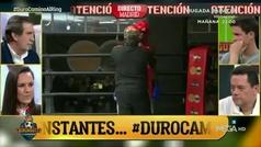 Así fue el paseillo de Alfredo Duro camino del ring para su combate con Fabrice