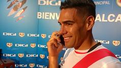 La emotiva llamada de Hugo Sánchez a Falcao en su presentación