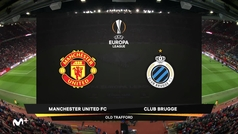 Europa League (1/16, vuelta): Resumen y goles del Manchester United 5-0 Brujas