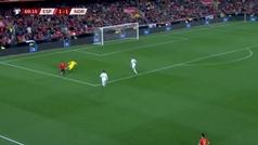Gol de Ramos (p.) (2-1) en el España 2-1 Noruega