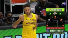 Curry, un extraterrestre de récord y campeón con misterio