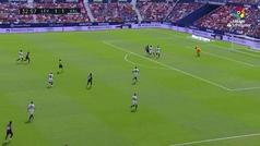 Gol de Oro: Roger (2-1) en el Levante 2-2 Valencia
