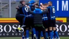 Conte hace un 'Mourinho': su celebración que ya es viral en Italia