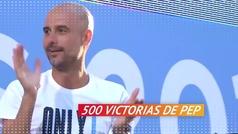 500 victorias de Guardiola, ¿con qué equipo suma mejor porcentaje?