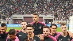 Locura por Neymar y el PSG en Doha: ¡15.000 personas en un entrenamiento!