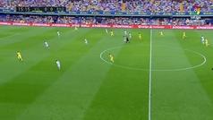 Gol de Gerard Moreno (1-0) en el Villarreal 1-2 Real Sociedad