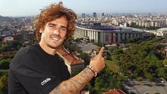 """Griezmann: """"Cuando todo se resolvió y ya estaba en el Barça llamé a mi padre y lloré de felicidad"""""""