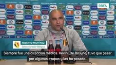Roberto Martínez confirma la baja De Bruyne en el estreno de Bélgica