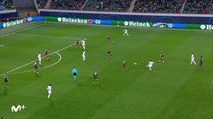 Gol de Kimmich (1-2) en el Lokomotiv 1-2 Bayern