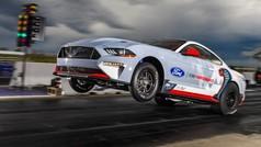 El espectacular Ford Mustang Cobra Jet 1400, en acción