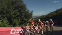 Así fue el etapón de Cobo en Peña Cabarga que valía una Vuelta