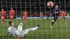 Champions League (octavos, vuelta): Resumen y goles del Barcelona 5-1 Lyon