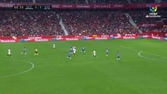 Gol de Ben Yedder (2-1) en el Sevilla 2-1 Espanyol