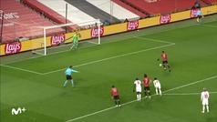 Gol de Martial (4-0) en el Manchester United 5-0 RB Leipzig