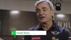 Así anticipaba Carlos Sáinz su gran actuación en el Dakar