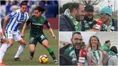 """La afición del Betis encumbra a Diego Lainez: """"Encara y tiene desparpajo"""""""