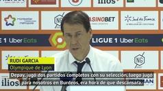 Rudi García deja en el banquillo a Depay, y así lo justifica