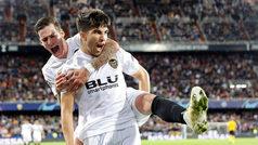 Champions League (J4): Resumen y goles del Valencia 3-1 Young Boys