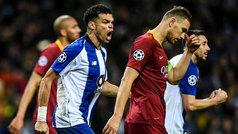 Champions League (octavos, vuelta): Resumen y goles del Oporto 3-1 Roma
