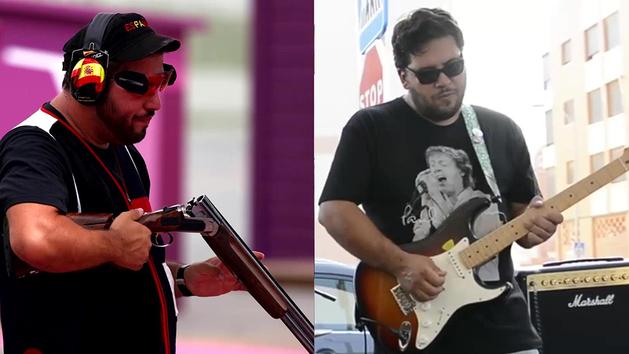De guitarrista de Los Geiperman a colgarse el oro olímpico: la otra faceta de Alberto Fernández