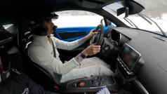 Así rodó Ocon en el Rally de Montecarlo