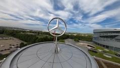 El museo de Mercedes, a vista de dron