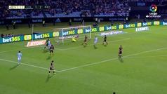 Gol de Iago Aspas (2-2) en el Celta 2-2 Rayo